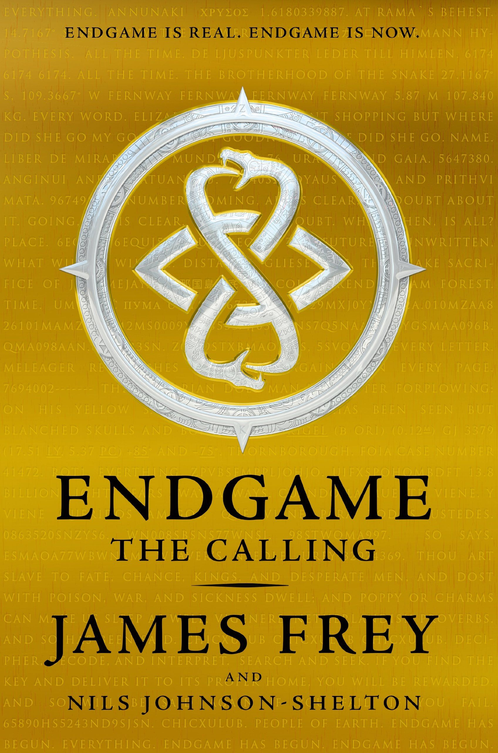 ENDGAME 1  THE CALLING