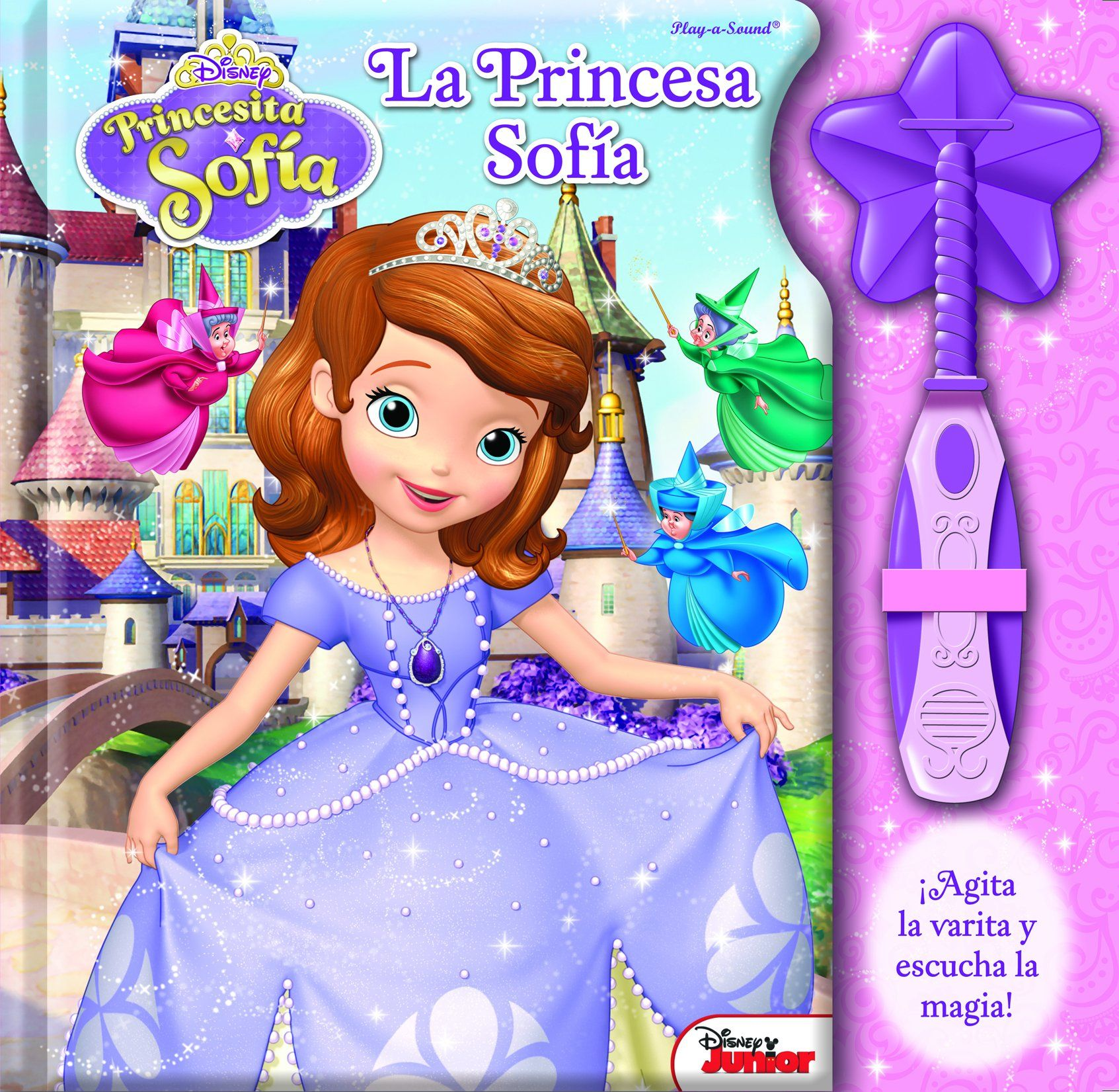 LA VARITA MAGICA DE LA PRINCESA SOFIA MAGIC WAND