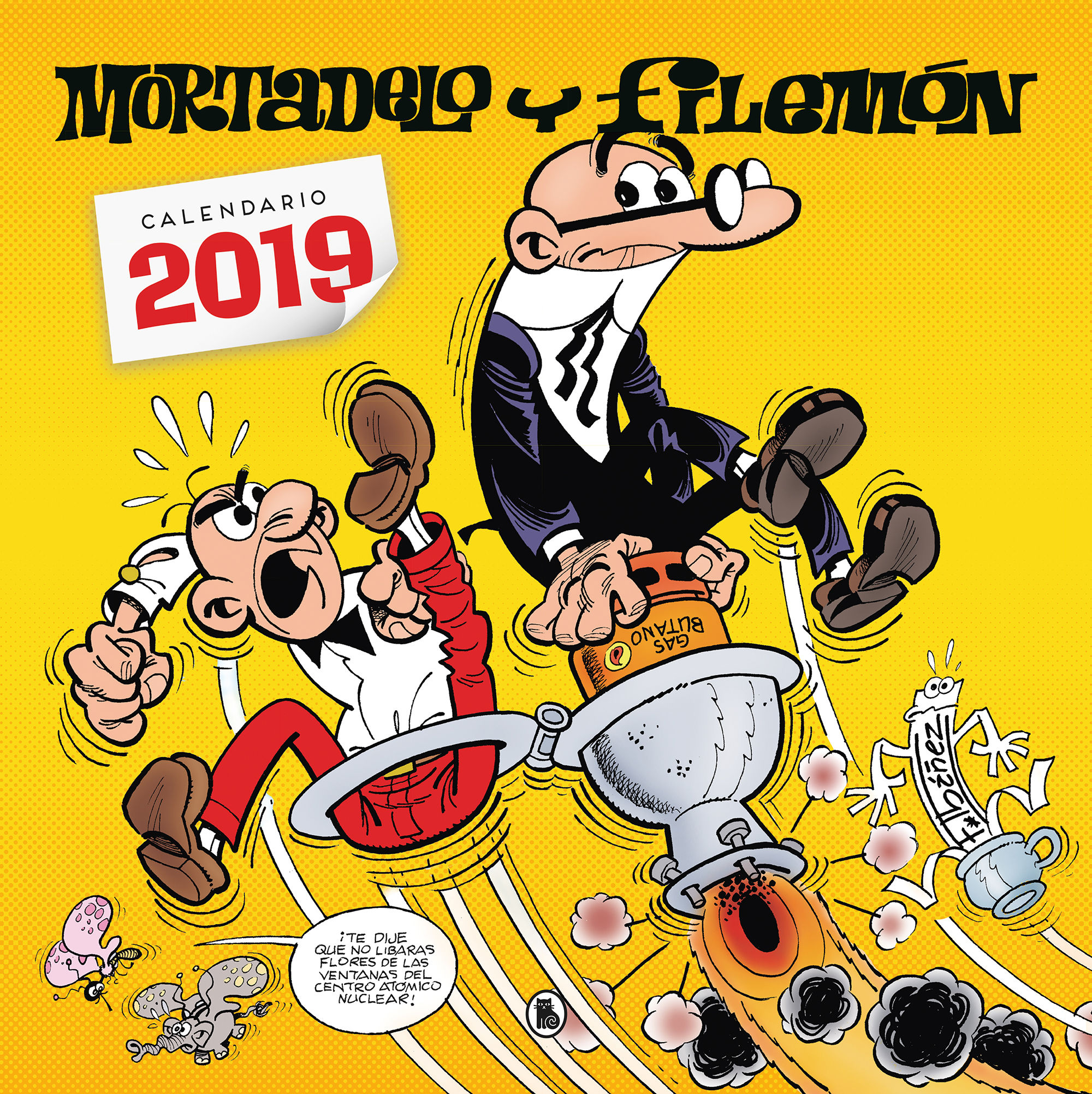 CALENDARIO MORTADELO Y FILEMON 2019