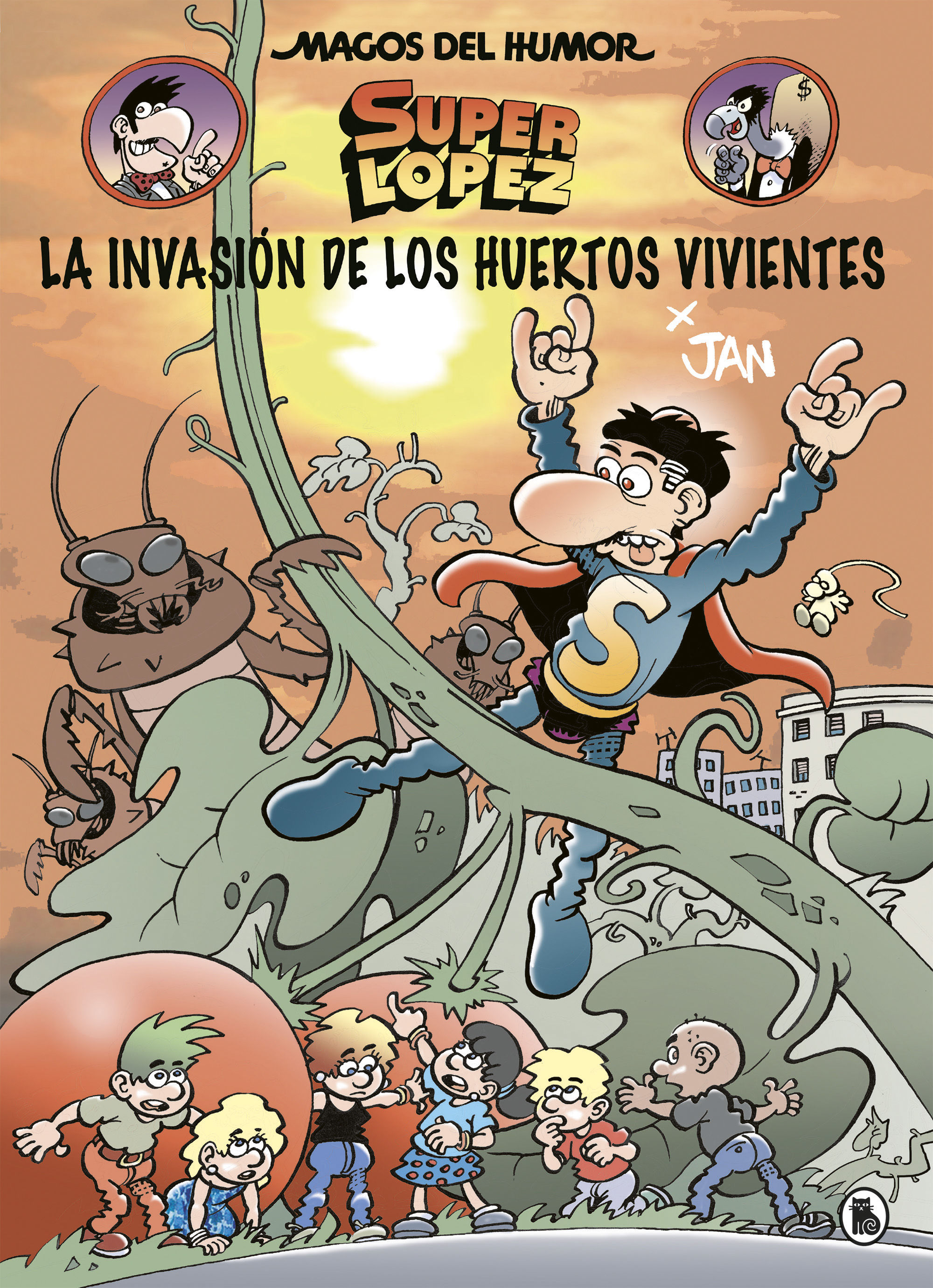 MAGOS DEL HUMOR SUPERLOPEZ 206.INVASION