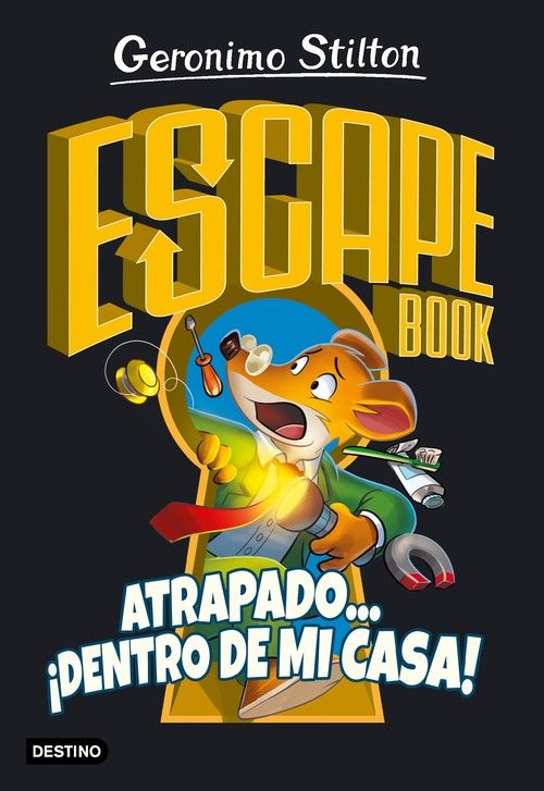 ESCAPE BOOK. ATRAPADO... ­DENTRO DE MI CASA!