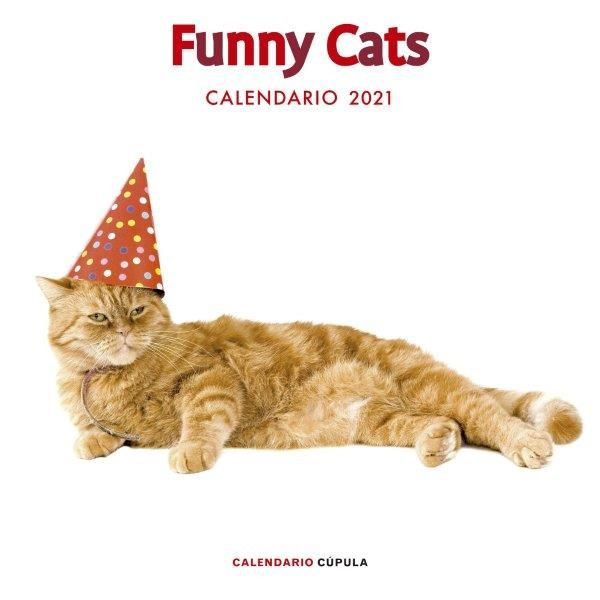 CALENDARIO 2021 FUNNY CATS