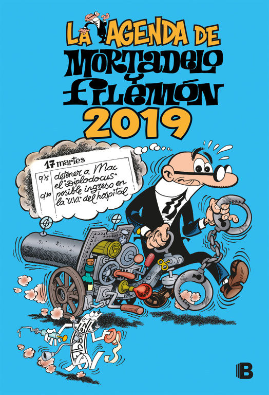 LA AGENDA DE MORTADELO Y FILEMON