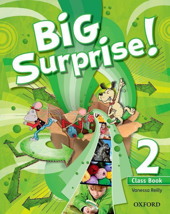 BIG SURPRISE! 2. CLASS BOOK + MULTI-ROM
