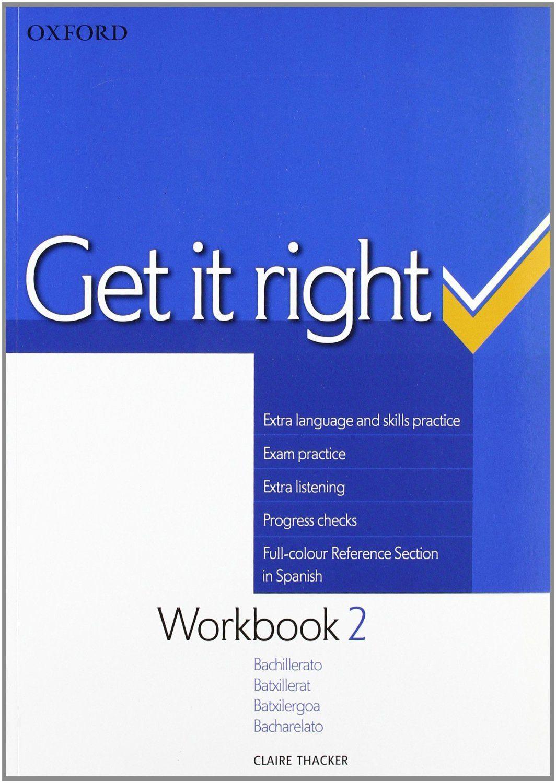 GET IT RIGHT 2. WORKBOOK