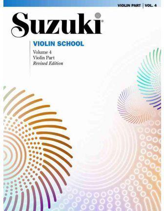 SUZUKI. VIOLIN SCHOOL VOL 4. REVISED EDITION