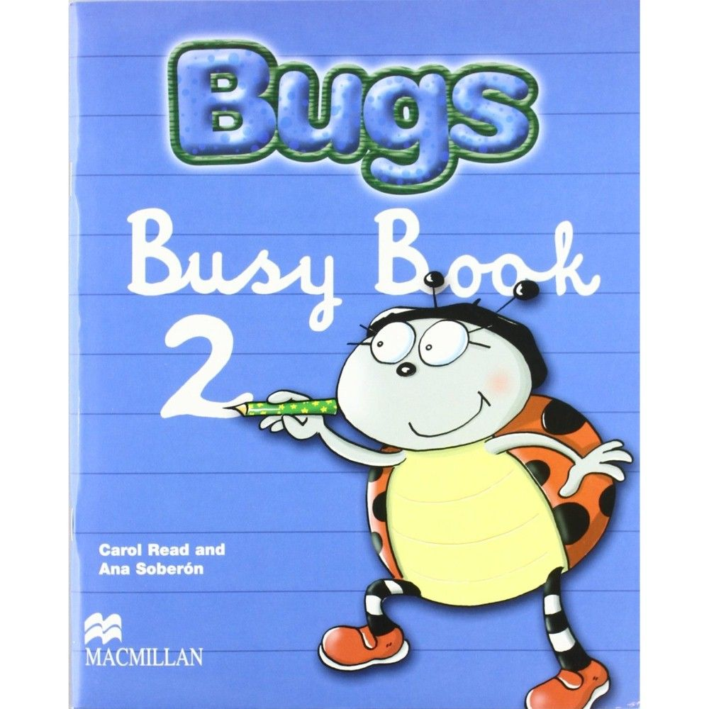 BUGS 2 BUSY BOOK