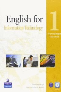 ENGLISH FOR IT LEVEL 1 COURSEBOOK AND CD-ROM PACK