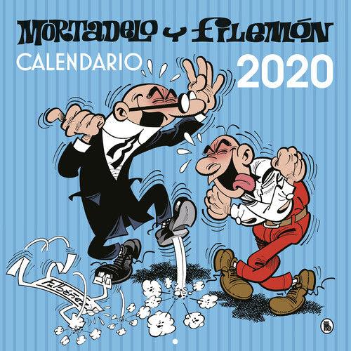 CALENDARIO PARED MORTADELO Y FILEMON 202