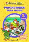 ¡VACACIONES PARA TODOS! 2