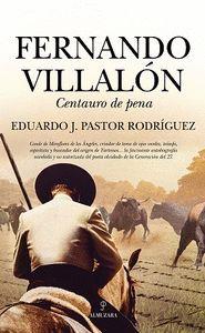 FERNANDO VILLALON, CENTAURO DE PENA
