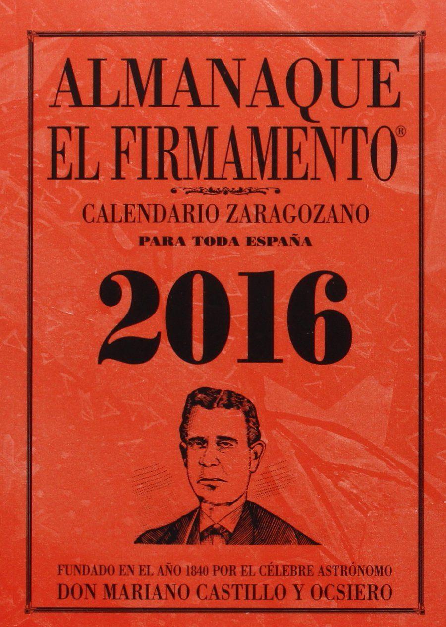 ALMANAQUE EL FIRMAMENTO 2016