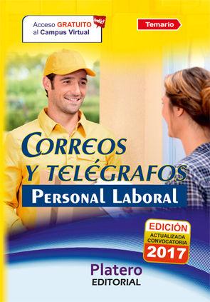 PERSONAL LABORAL DE CORREOS Y TELÉGRAFOS. TEMARIO